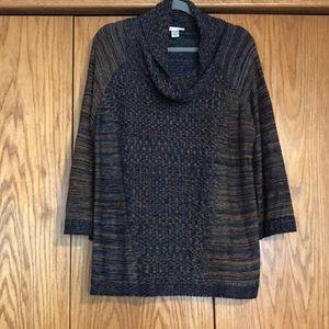 Cj banks cowl neck sweater